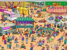 Where's Waldo Printable Sheets   Thread: Where's Waldo? (100k) + (Ornament)