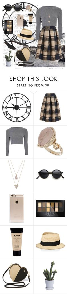 """the strokes – what ever happened?"" by blinktyan ❤ liked on Polyvore featuring Glamorous, Topshop, Panacea, Incase, Maybelline, NYX, Eugenia Kim, HAY, Cocobelle and women's clothing"