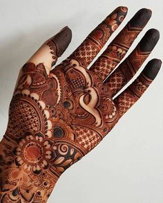 We have curated an exhaustive list of more than 80 Arabic mehndi designs for you.  Mehndi Designs Front Hand, Indian Henna Designs, Mehandhi Designs, Stylish Mehndi Designs, Full Hand Mehndi Designs, Mehndi Design Photos, Mehndi Designs For Fingers, Mehndi Designs For Hands, Arabian Mehndi Design