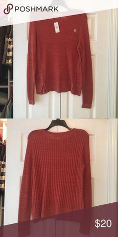 Crimson loft sweater Brand new. Crimson loft sweater LOFT Sweaters Crew & Scoop Necks