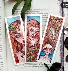 Watercolor Bookmarks, Bullet Art, Magic Book, Watercolour Painting, Watercolor Illustration, Art Challenge, Beautiful Drawings, Whimsical Art, Art Sketchbook