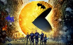 Critique DVD: Pixels, un film de Chris Columbus Best Action Movies, Good Movies, Aliens, Avengers Film, Computer Video Games, Kevin James, Michelle Monaghan, Film Streaming Vf, The Wedding Singer