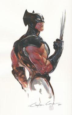 Wolverine by Clayton Crain