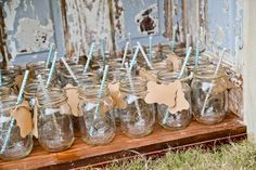 Favor Ideas: 15 Ways to Show Gratitude To Your Guests (Photo by CREATE Portraiture via Rustic Wedding Chic) Farm Wedding, Chic Wedding, Rustic Wedding, Dream Wedding, Wedding Day, My Perfect Wedding, Cute Wedding Ideas, Alabama Wedding Venues, Country Wedding Decorations