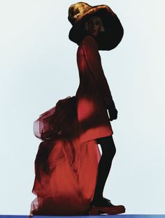 Benjamin Lennox photographs 'Fashion 2' with styling by Sissy Vian and makeup by Violette for Flair, Dec 2012