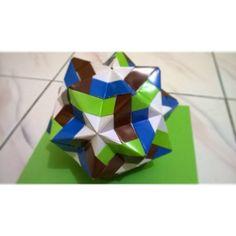 Sonobe Star Kusudama origami