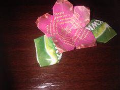 tea bag flower