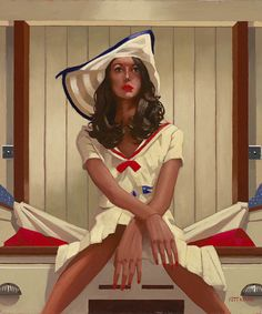 'Below Deck'  Jack Vettriano
