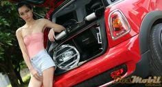 MINI Cooper Modifikasi Car Theater #BosMobil