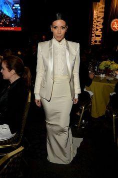 Kim Kardashian at USC Shoah Foundation's 20th Anniversary Gala in Century City, California