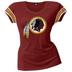Washington Redskins - Off Campus Juniors Premium Scoop T-Shirt