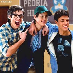 The outfield boys Cameron Alexander Dallas, Cameron Dallas, Movies For Boys, Sam And Colby, Nash Grier, Magcon Boys, The Outfield, Ross Lynch, My Heart Is Breaking