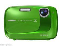 Fujifilm FinePix Z35 10.0 MP, 3X Optical Zoom, 2.5'' LCD, Digital Camera - Green