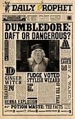 Image result for harry potter daily prophet printable