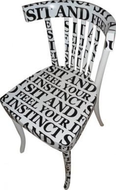 Letraset chair.