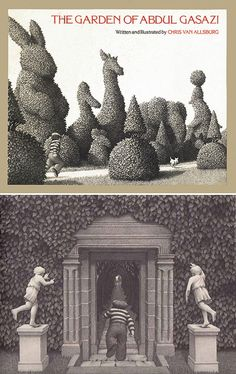 The Garden of Abdul Gasazi, written and illustrated by Chris Van Allsburg.