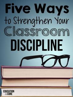 Five Ways To Strengthen Your Classroom Discipline. Try these Five Tips to Strengthen Your Classroom Discipline. Here is a list of 5 things you can do right now to tighten up your discipline. Classroom Discipline, Classroom Behavior Management, Behaviour Management, Time Management, Middle School Management, Classroom Consequences, Classroom Behaviour, Management Quotes, School Discipline