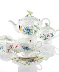 Lenox Dinnerware, Butterfly Meadow Gifts Collection - Casual Dinnerware - Dining & Entertaining - Macy's