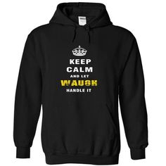 cool Best selling t shirts Keep Calm and let Waugh handle it