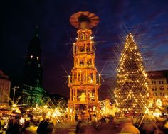 Christmas market in Germany, Dresden