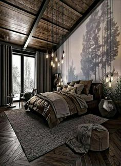 Gain More Marvelous Scandinavian Interior Bedroom Loft Ideas 41 Beautiful Scandinavian Bedroom Loft Design Ideas If you are interested in buying a Scandinavian Interior Bedroom Loft, then. Loft Design, House Design, Scandinavian Interior Bedroom, Scandinavian Design, Scandinavian House, Bedroom Loft, Dark Cozy Bedroom, Travel Bedroom, Bedroom Romantic