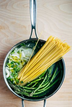 one-pot pasta primavera // brooklyn supper