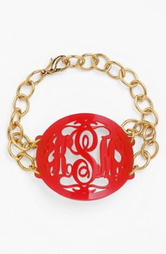 Personalize a gift with a monogram.
