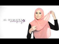 JANE shawl styling tutorial by Al-Humaira Contemporary Hijab Tutorial, Islamic Fashion, How To Wear Scarves, Abaya Fashion, Indian Wear, Michael Jackson, Shawl, Contemporary, Abaya Style