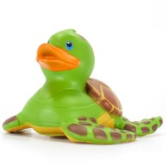 Buy Turtle Sea Rubber Duck Crawling slowly with turtle shell and yellow chest. Features like Made of vinyl Materials and Approximate Size is W x 4 x Order yours today only here at Ducksinthewindow. Duck Memes, Duck Toy, Duck Duck, Sailor Cap, What The Duck, Nemo, Quack Quack, Disney Jokes, Children