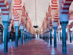 La Mezquita de Córdoba, Patrimonio Cultural de la Humanidad, fue en su tiempo la segunda mezquita más grande del mundo / The Mosque of Cordoba, a World Heritage Site, was in its time the second largest mosque in the world