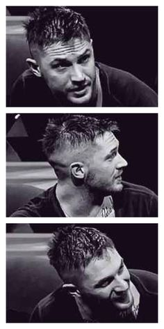 His hair in this interview was just utterly adorable. I love tom hardy <3