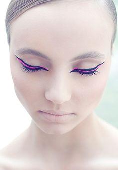 carnival neon makeup
