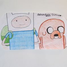 Adventure Time drawing done by me ; Yasmeen Leavitt . <3 I did not trace, I freehanded .