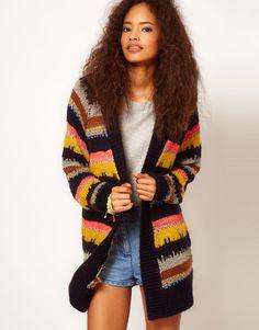 I like the slightly southwestern vibe of this ASOS sweater