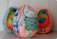 Art / LOVE Kari Anne Marstein's Easter eggs