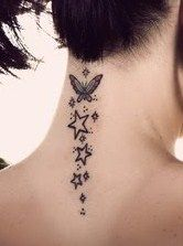 neck tattoo....but would substitute hearts