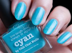 ChitChatNails » Blog Archive » MY piCture pOlish Cyan