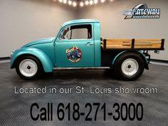 1974 Volkswagen Beetle Truck  - Stock #5558-STL