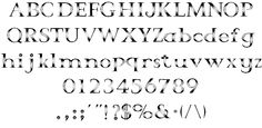 Crystal font by George Williams - FontSpace