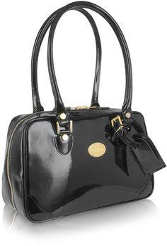 L.A.P.A. Black Italian Patent Leather Shoulder Bag Louis Vuitton  Kézitáskák 30f0bfa626