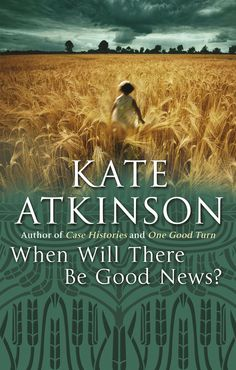 When Will There Be Good News? by Kate Atkinson inspired the BBC miniseries Case Histories. Jackson Brodie, The Library Of Babel, Case Histories, Crime Fiction, Penguin Books, Fun To Be One, Book Lovers, Good News, Audio Books