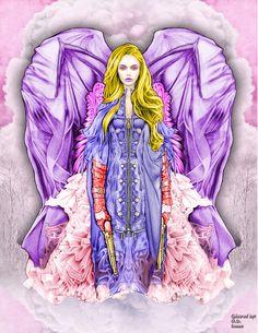 Bennett Klein - CMSB Epic   Angel Avenger  Digital Colouring