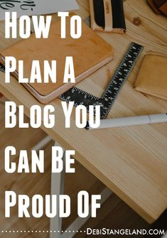 Planning your blog means the difference between a site you love and one you struggle to maintain. Follow these simple steps to learn how to plan a blog you can be proud of. #EquippingBloggers
