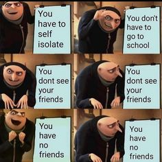 """These """"Top 21 Funny Despicable Me Memes"""" are so hilarious. I'm sure it will make you laugh for whole day.So scroll down and check out these """"Top 21 Funny Despicable Me Memes"""". All Meme, Stupid Funny Memes, Funny Relatable Memes, Haha Funny, Funny Posts, Funny Cute, Funny Shit, Super Funny, Funny Stuff"""