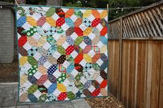 Baby quilt tutorial - looks easy but maybe a little time-consuming...