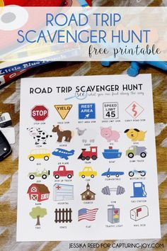 Trip Scavenger Hunt Free Printable Road Trip Scavenger Hunt Great printable idea for traveling with kids!- Jessika Reed for Capturing-JoyRoad Trip Scavenger Hunt Great printable idea for traveling with kids!- Jessika Reed for Capturing-Joy