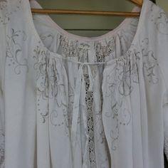 Vintage Linen Day Jacket Size Medium by MegbyDesign on Etsy, $125.00