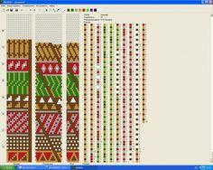 пэчворк : Формат jpg : Схемы для вязаных жгутов : Файлы : jbead