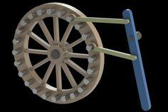 Lever and pawns movement - Parasolid, STL, STEP / IGES, SOLIDWORKS - 3D CAD model - GrabCAD