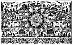 Werke Paper Cutting, City Photo, Cross Stitch, Art, Landscapes, Paintings, Papercutting, Art Background, Crossstitch